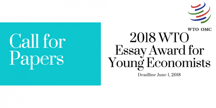 Wto Essay Awards For Young Economists  Eligibility Essays For High School Students also What Is The Thesis Of An Essay  Research Proposal Essay