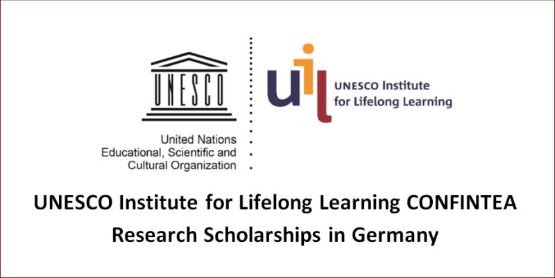 UNESCO Institute for Lifelong Learning CONFINTEA Research Scholarships in Germany, 2019