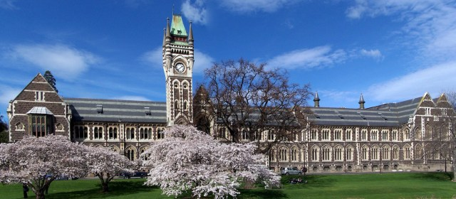 Full-time MBA Scholarships at University of Otago in New Zealand, 2018