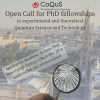 CoQuS_OpenCall