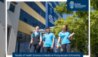 Faculty of Health Sciences and Medicine postgraduate placements in Australia, 2019