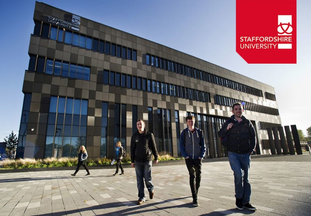 Staffordshire programs for Commonwealth Students in UK, 2019