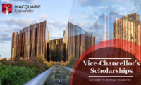 Vice-Chancellor's international awards at Macquarie University in Australia, 2020