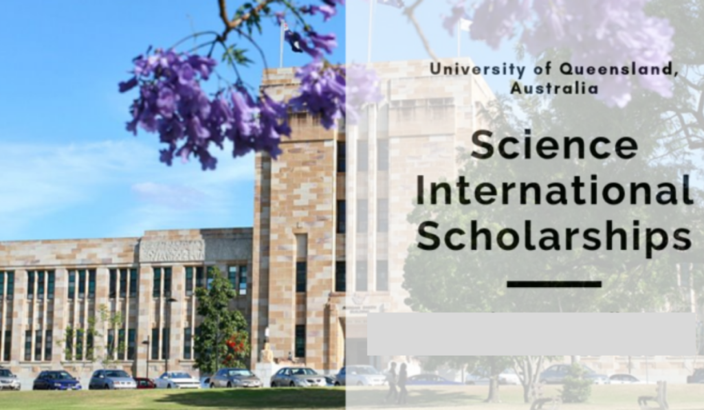 Science international awards at University of Queensland in Australia, 2020