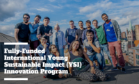 Fully-funded International Young Sustainable Impact (YSI) Innovation Program 2019