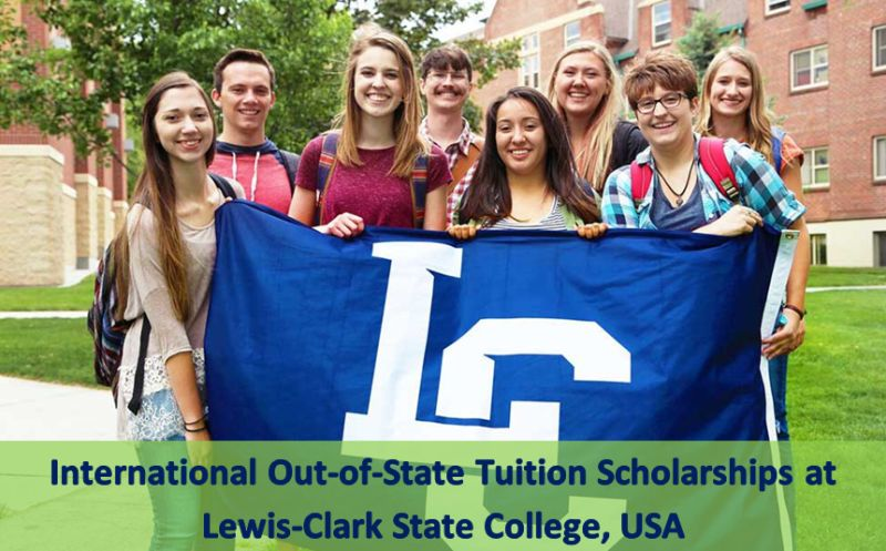 International Out-of-State tuition grants at Lewis-Clark State College, USA