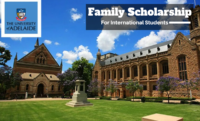 The University of Adelaide Family funding for International Students in Australia, 2020