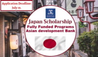 Asian Development Bank-Japan program for International Students, 2020