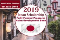 Asian Development Bank-Japan program for International Students, 2019