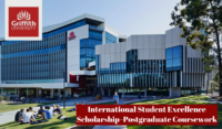 Griffith University International Student Excellence Scholarship–Postgraduate Coursework in Australia, 2020