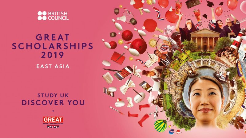 2019 British Council Great Scholarships for East Asian atGoldsmiths, University of London, UK