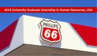 2019 University Graduate Internship in Human Resources, USA