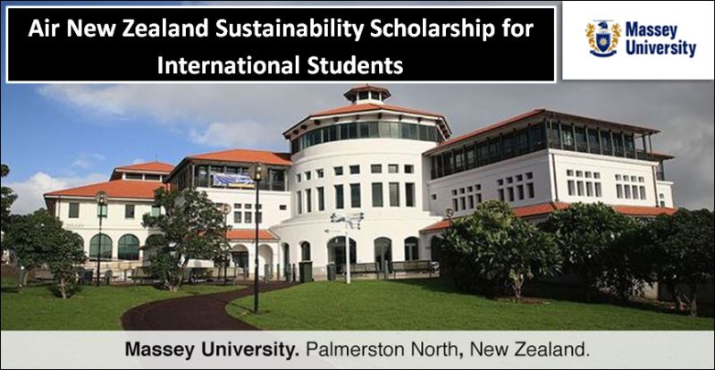Air New Zealand Sustainability funding for International Students