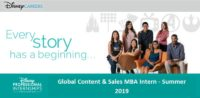 Global Content & Sales MBA Intern - Summer 2019