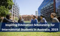Inspiring Innovation funding for International Students in Australia, 2019