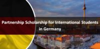 Partnership funding for International Students in Germany