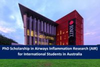 PhD Scholarship in Airways Inflammation Research (AIR) for International Students in Australia