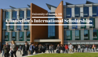 University of Sussex Chancellor's international awards in the UK, 2020