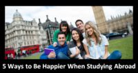 5 Ways to Be Happier When Studying Abroad