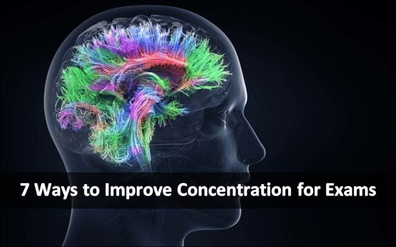 7 Ways to Improve Concentration for Exams
