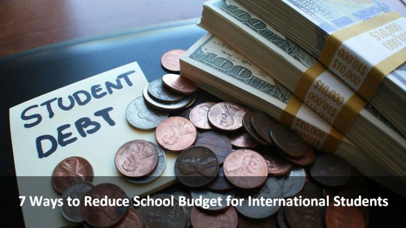 7 Ways to Reduce School Budget for International Students