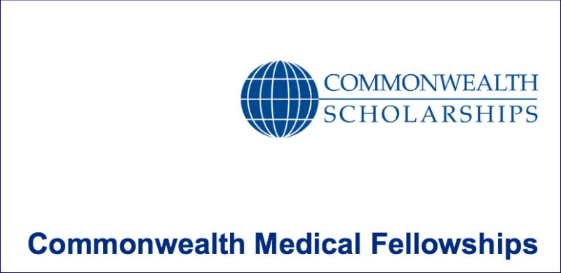 Commonwealth Medical Fellowships for International Students, UK