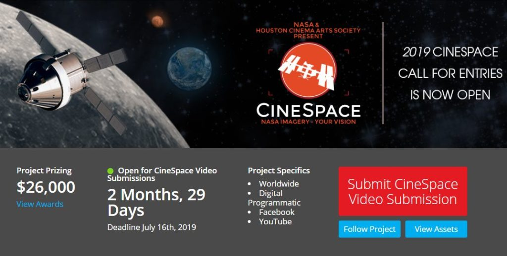 NASA CineSpace Competition