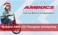 National AMBUCS Therapists Scholarship in the USA