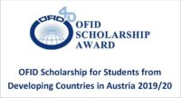 OFID funding for International Students in Austria 2019/20