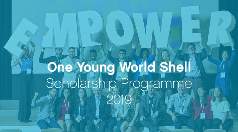 One Young World Shell programme in the UK, 2019
