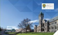 Otago Council Inc Scholarship in Science at the University of Otago, New Zealand