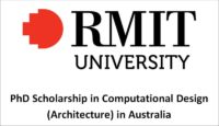 RMIT University PhD Scholarship in Computational Design (Architecture) in Australia