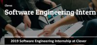 Software Engineering Internship at Clever
