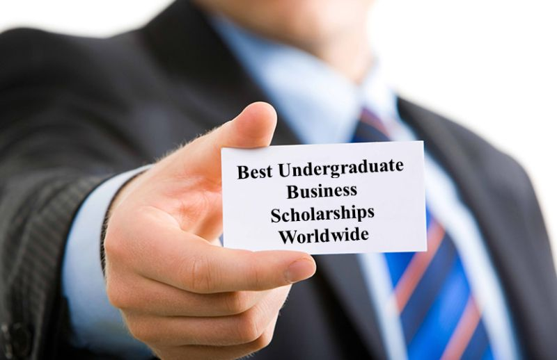 Best Undergraduate Business Scholarships for International Students