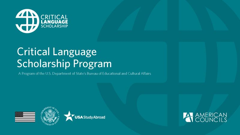Critical Language Scholarship (CLS) Program for American Students, USA