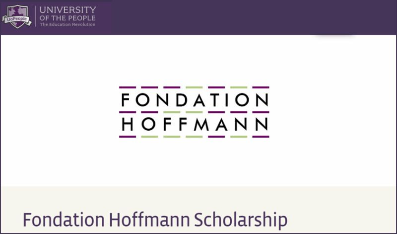 Fondation Hoffmann funding for International Students