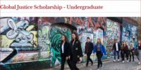 Global Justice undergraduate financial aid University of Bristol, UK