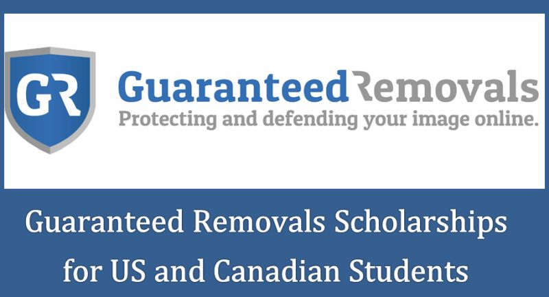 Guaranteed Removals Scholarships for US and Canadian Students, 2019