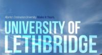High School Student Grade 11 Merit Award at the University of Lethbridge, Canada