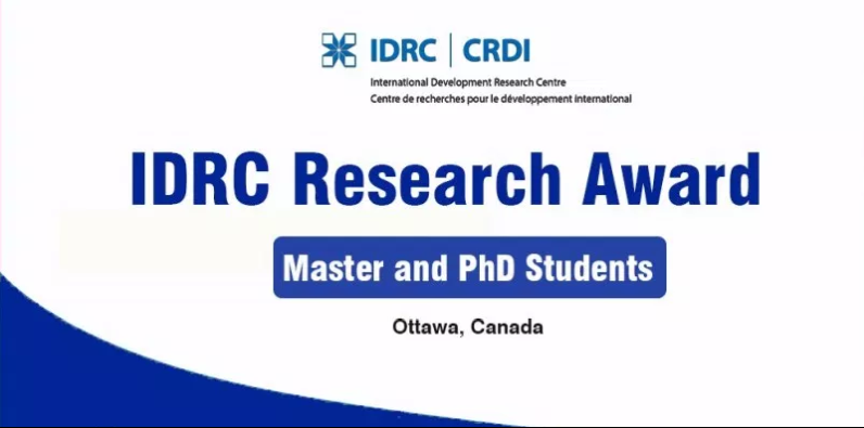 IDRC Doctoral Research Awards 2019 in Canada