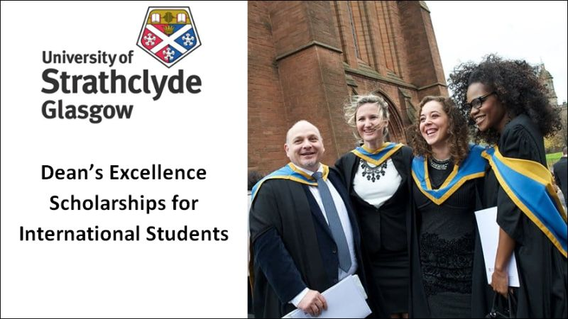 Strathclyde Business School Deans Excellence Scholarships for International Students