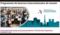 Université Paris-Saclay International Master's programme for Academic Year 2020