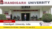 Chandigarh program Program for African Student in India, 2019