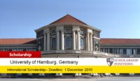 Degree Completion Grants for International Students at Universität Hamburg in Germany