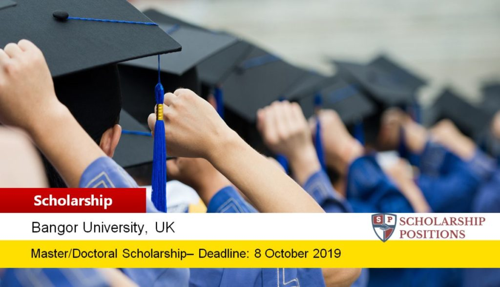 Fulbright Award at Bangor University for the US Applicants in UK, 2020-2021