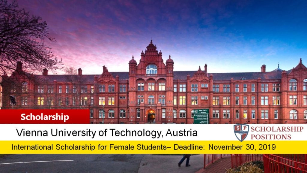 Helmut Veith Stipend for International Female Students in Austria, 2019