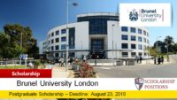 Postgraduate Academic Excellence funding for International Students, 2019-2020