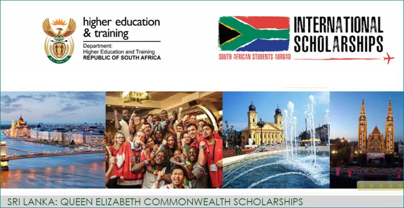 Queen Elizabeth Commonwealth Scholarships for International Students in Sri Lanka, 2019