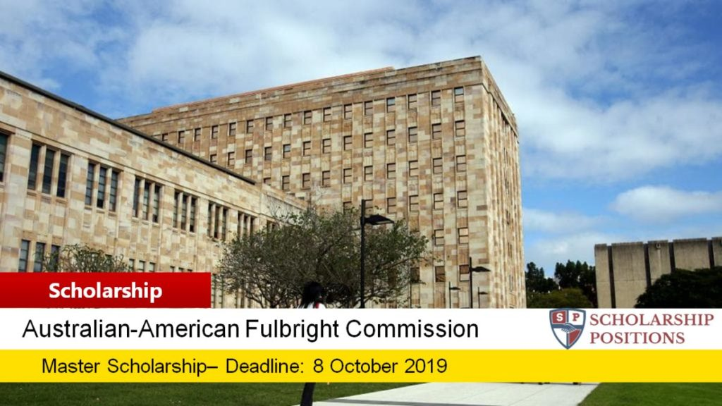 U.S. Fulbright Anne Wexler Scholarship in Public Policy for US Students in Australia, 2019