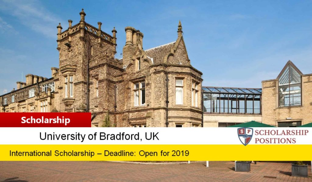 University of Bradford Country specific opportunities in UK, 2019